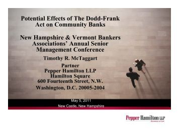 What is a summary of the Dodd-Frank Act?