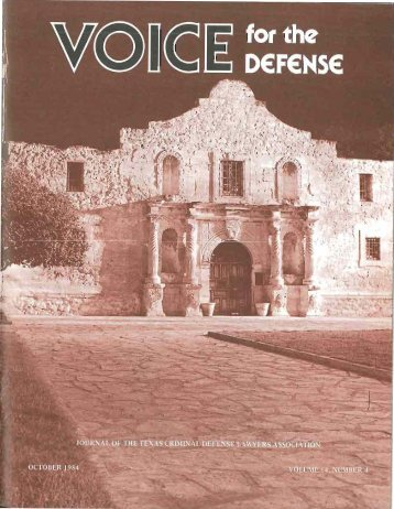 2 - Voice For The Defense Online