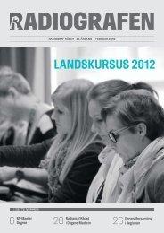 LANDSKURSUS 2012 - Foreningen af Radiografer i Danmark