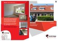 Brochure Salverdastraat 11 te Sneek - Makelaardij Jan de Lange ...