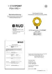 PSA VRS STARPOINT 2009-12-17-MRL - RUD