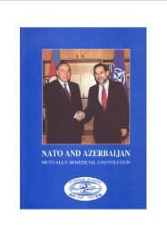 NATO AND AZERBAIJAN - Erevangala500