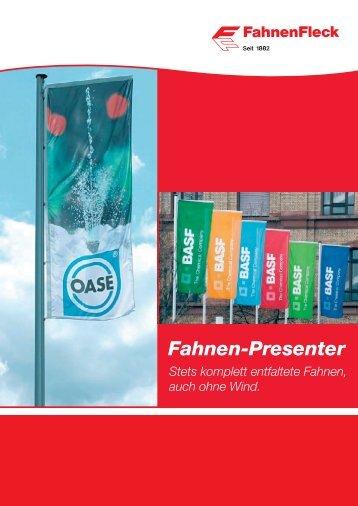 Fahnen-Presenter - FahnenFleck