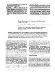 Raman Spectroscopy of Uncomplexed Valinomycin. 1. The Solid State