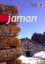 janvier - février 2010 www.cas-jaman.ch - Club Alpin Suisse Section ...