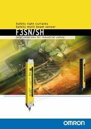 Omron photoelectric barriers - brochure .pdf - Industriale Elettrica