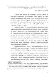 O mercado formal de trabalho no Rio Grande do Sul e em ... - FEE
