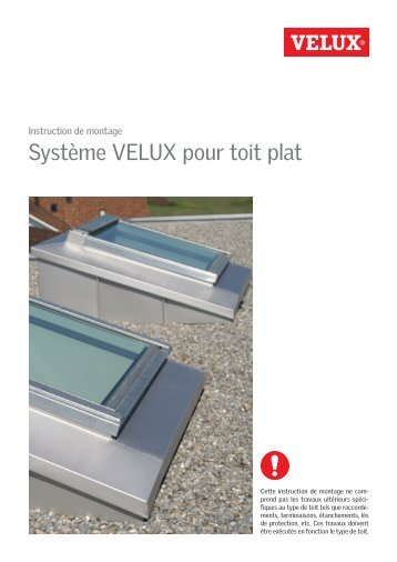 puits de lumi re pour toits plats velux. Black Bedroom Furniture Sets. Home Design Ideas