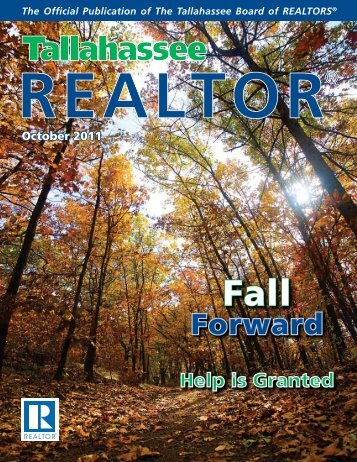 October 2011: Fall Forward - Tallahassee Board of Realtors