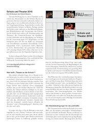 Kurze Zusammenfassung (pdf) - Institut für Pädagogik - Friedrich ...