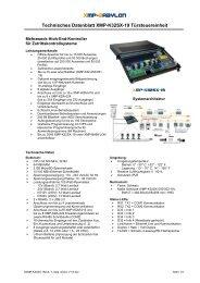 Download Datenblatt XMP-K32sx 19 - AUTEC Gesellschaft für ...