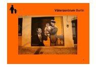 Väterzentrum Berlin - Wertebildung in Familien