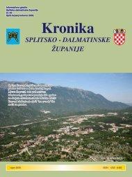 Kronika - Splitsko-dalmatinska županija
