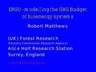The Model ERGO - the IEA Bioenergy Task 38 Website