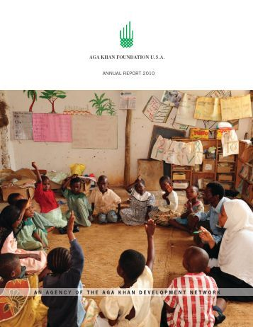 2010 Annual Report: Education - PartnershipsInAction