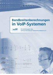 Bandbreitenberechnung in VoIP-Systemen - Computerpartner
