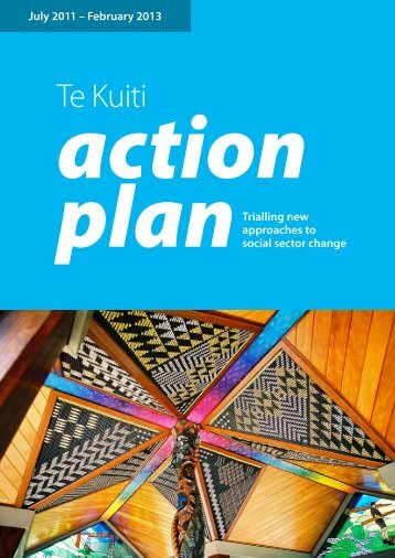 Te Kuiti Youth Action Plan - Ministry of Social Development