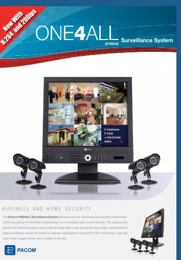 Pacom One 4 All - The Technoworx Store