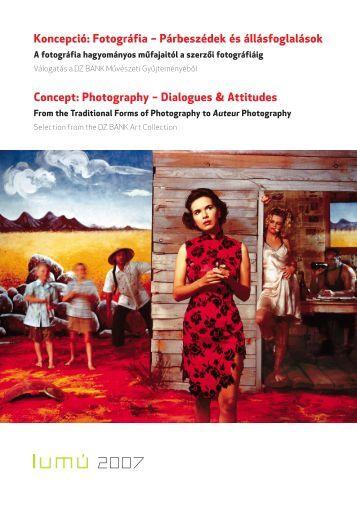 Koncepció-Fotográfia kiállítás 2007 - Ludwig Múzeum