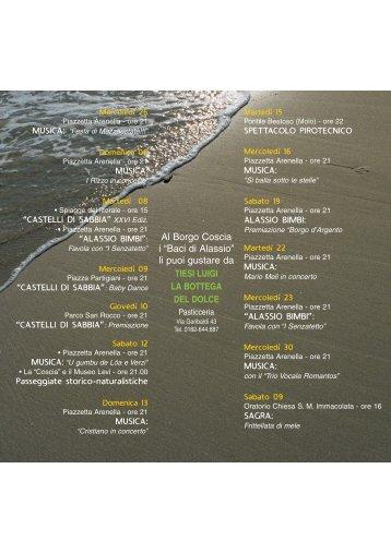 Borgo Coscia Manif. 06 - Comune di Alassio