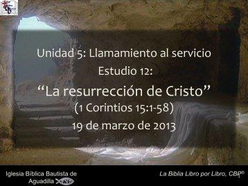 1 Corintios - Iglesia Biblica Bautista de Aguadilla, Puerto Rico
