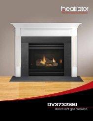DV3732SBI - Hearth & Home Technologies