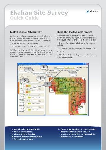 ESS User Guide | Wi Fi | Computer Network - es.scribd.com