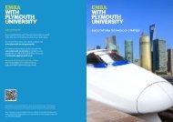 EMBA TS.pdf - Plymouth University