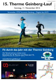 15. Therme G - Therme-Geinberg-Lauf
