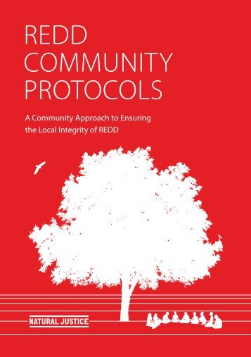 REDD COMMUNITY PROTOCOLS - Natural Justice