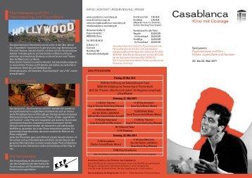 Psychoanayse und Film – Traumdeutung und ... - Casablanca