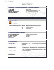 material safety data sheet [91/155/eec] - Mitsubishi Gas Chemical