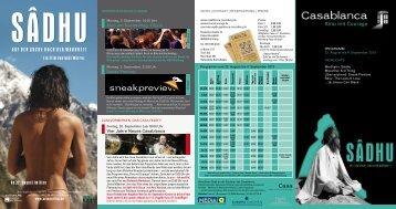 Kino am Nachmittag: Gloria Sneak Preview Vier Jahre ... - Casablanca