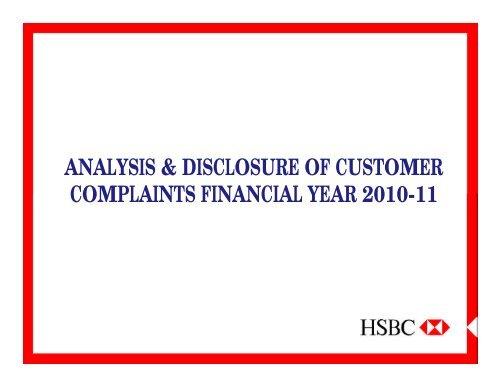 hsbc analysis