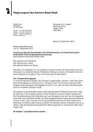 Regierungsrat des Kantons Basel-Stadt
