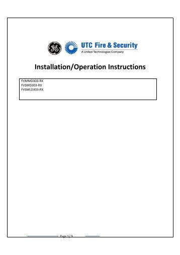 notifier lcd 80 installation manual