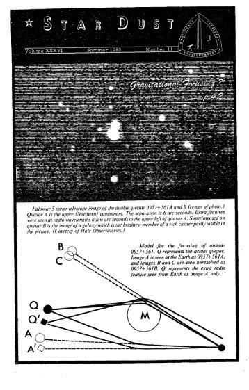 Q'. - National Capital Astronomers