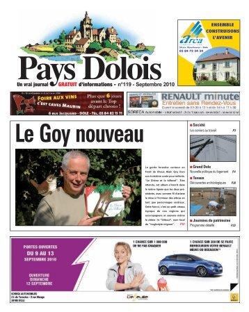 Cliquez-ici pour télécharger le journal au format PDF - Pays Dolois