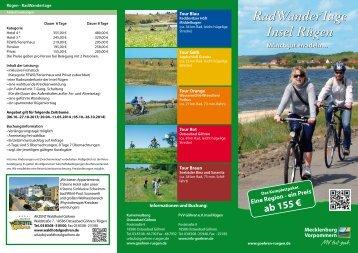 RadWanderTage Insel Rügen - Akzent Waldhotel