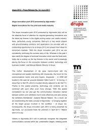 drupa 2012 – Pressemeldung Nr - Messe Düsseldorf