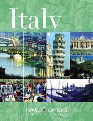Italy - Travel Options