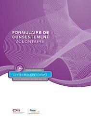 formulaire de consentement volontaire - Expo-sciences