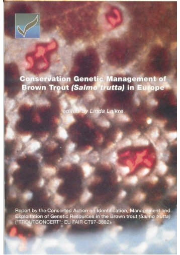 conservation genetic management of