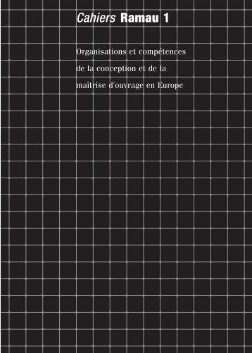 Cahiers Ramau 1