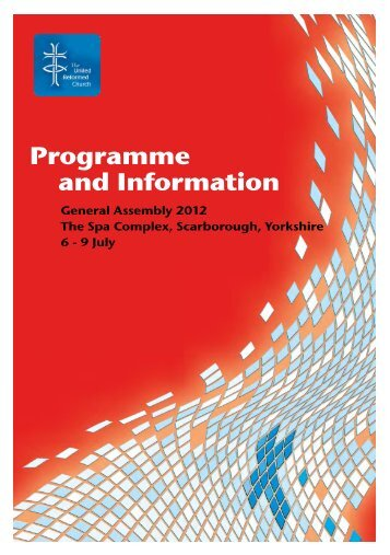 Programme and Information - United Reformed Church General ...