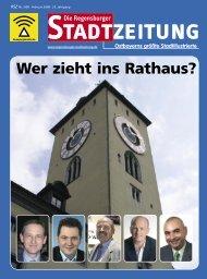 RSZ Februar 08.indb - Regensburger Stadtzeitung