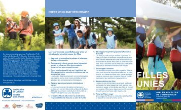 FiLLEs uniEs - Girl Guides of Canada.