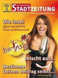 Download gesamte Ausgabe (PDF, 15176 kb) - Regensburger ...