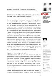drupa 2012 – Comunicado à Imprensa n° 16 ... - Messe Düsseldorf