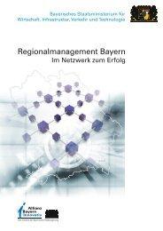 Regionalmanagement-Initiativen in der ... - Regierung von Oberbayern